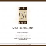Mimi London Catalogue